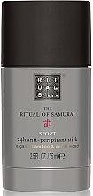 Parfumuri și produse cosmetice Deodorant-antiperspirant - Rituals The Ritual Of Samurai Sport Anti-Perspirant Stick