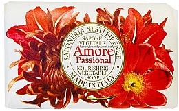 Parfumuri și produse cosmetice Săpun cu aromă exotică de vanilie, migdale, portocale și fructe tropicale - Nesti Dante Amore Passional Nourishing Vegetable Soap