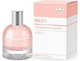 Parfumuri și produse cosmetice Adidas Unlock For Her - Apă de toaletă