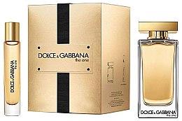 Parfumuri și produse cosmetice Dolce & Gabbana The One - Set (edt/100ml + edt/7.4ml)