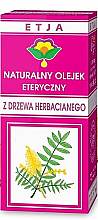 Parfumuri și produse cosmetice Ulei esențial Arbore de ceai - Etja Natural Essential Tea Tree Oil
