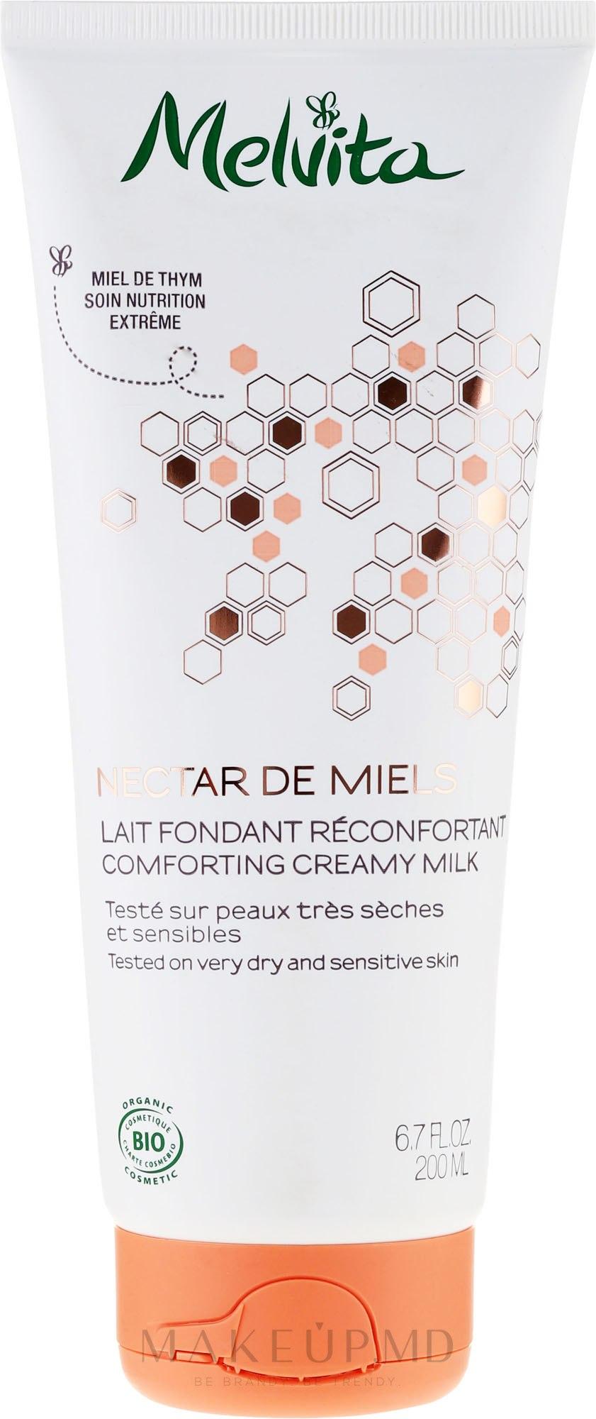 LAPTE PENTRU CORP - Melvita Nectar de Miels Comforting Creamy Milk — Imagine 200 ml