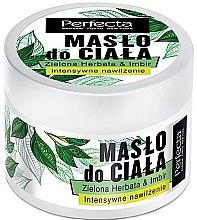 """Parfumuri și produse cosmetice Ulei de corp """"Ceai verde și ghimbir"""" - Perfecta Green Tea & Ginger Body Butter"""