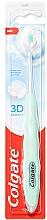 Parfumuri și produse cosmetice Periuță de dinți, moale, mentă - Colgate 3D Density Soft Toothbrush
