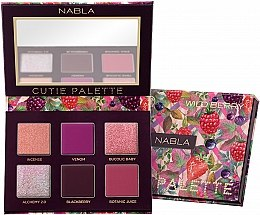 Parfumuri și produse cosmetice Paletă farduri de ochi - Nabla Cutie Collection Palette Wild Berry