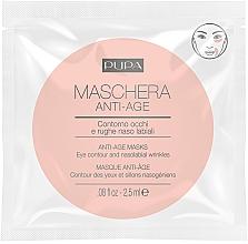Parfumuri și produse cosmetice Mască anti-îmbătrânire pentru zona din jurul ochilor - Pupa Single Dose Anti-Age Masks