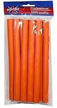 Parfumuri și produse cosmetice Bigudiuri profesionale flexibile 16/210, portocaliu - Ronney Professional Flex Rollers