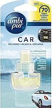 "Parfumuri și produse cosmetice Rezervă aromatizator auto ""Flux de prospețime"" - Ambi Pur Air Freshener Refill Refreshing Stream"