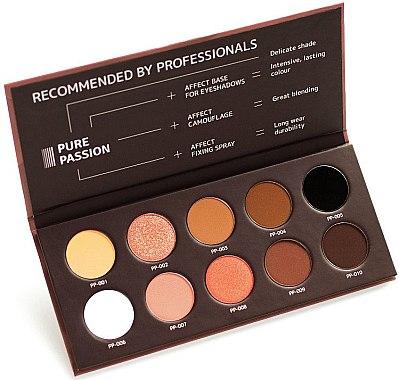 Paletă fard de pleoape - Affect Cosmetics Pure Passion Eyeshadow Palette