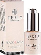 Parfumuri și produse cosmetice Ulei de față - Herla Black Rose Face Dry Oil