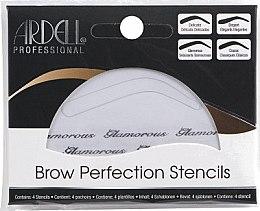 Parfumuri și produse cosmetice Set pentru sprâncene - Ardell Brow Perfection Stencils