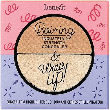 Concealer-iluminator - Benefit Cosmetics Boi-ing & Watt's up! — Imagine N1