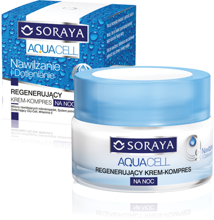 Cremă-compres regeneratoare de noapte - Soraya Aquacell Regenerating Cream-Compress — Imagine N1