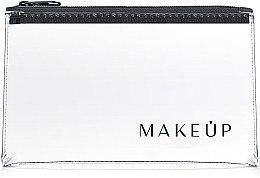 """Parfumuri și produse cosmetice Trusă cosmetică incoloră """"Flat Glow"""" 21x12 cm - MakeUp"""