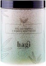 Parfumuri și produse cosmetice Sare de baie de la Marea Moartă pentru căzi - Hagi Bath Salt