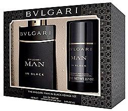 Parfumuri și produse cosmetice Bvlgari Man In Black - Set (edp/100ml + deo/75ml)