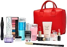 Parfumuri și produse cosmetice Set - Lancome Beauty Box Inter Set Xmas (rem/125ml + ser/20ml + cr/5ml + cr/15ml + tonic/75ml + b/lot/50ml + eye/palette + mascara/10ml + edp/4ml + lipstick/3.4g + lipstick/3g + crayon/1.8g + bag)
