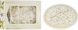 """Parfumuri și produse cosmetice Săpun natural """"Lăcrămioară"""" - Saponificio Artigianale Fiorentino Botticelli Lily Of The Valley Soap"""