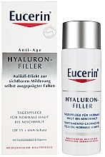 Parfumuri și produse cosmetice Cremă antirid pentru ten normal și combinat - Eucerin Hyaluron-Filler Day Cream For Combination To Oily Skin