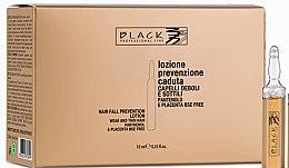 Parfumuri și produse cosmetice Loțiune cu pantenol și placentă împotriva căderii părului - Black Professional Line Panthenol & Placenta Lotion