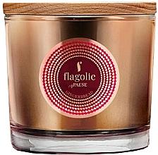 """Parfumuri și produse cosmetice Lumânăre aromată, în pahar """"Turtă dulce"""" - Flagolie Fragranced Candle Gingerbread"""
