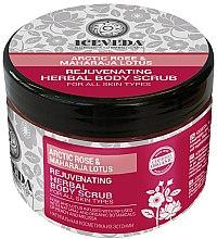 Parfumuri și produse cosmetice Scrub pentru corp - Iceveda Arctic Rose&Maharaja Lotus Rejuvenating Herbal Body Scrub