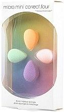 Parfumuri și produse cosmetice Set de burete pentru machiaj - Beautyblender Micro.Mini Correct.Four (4 buc.)