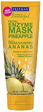 """Parfumuri și produse cosmetice Mască de față pe bază de enzime """"Ananas"""" - Freeman Feeling Beautiful Pineapple Enzyme Mask"""