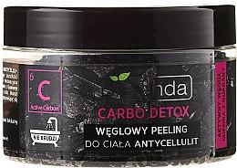"""Parfumuri și produse cosmetice Exfoliant cu cărbune be bază de sare pentru corp """"Anticelulitic"""" - Bielenda Carbo Detox Charcoal Salt Body Peeling Anti-Cellulite"""