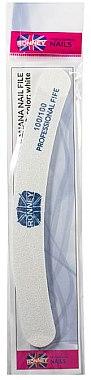 """Pilă de unghii, 100/100, albă, """"RN 00255"""" - Ronney Professional — Imagine N1"""
