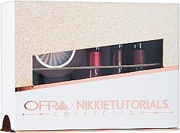 Parfumuri și produse cosmetice Set - Ofra x Nikkie Tutorials Collection (lipstick/3x6g + highlighter/10g)