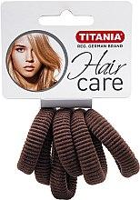 Parfumuri și produse cosmetice Elastic de păr, mediu, maro - Titania