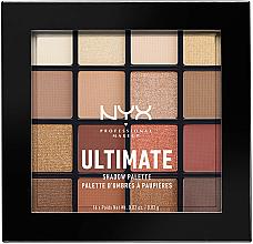 Parfumuri și produse cosmetice Paletă de farduri pentru pleoape - Nyx Professional Makeup Ultimate Shadow Palette