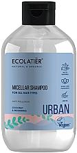 """Parfumuri și produse cosmetice Șampon micelar pentru toate tipurile de păr """"Cocos și dud"""" - Ecolatier Urban Micellar Shampoo"""