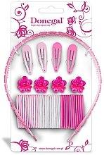 Parfumuri și produse cosmetice Set de accesorii pentru păr FA-5478, 43 buc. - Donegal