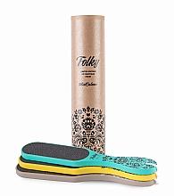 Parfumuri și produse cosmetice Set răzătoare pentru picioare, 80/120 - MiaCalnea Folky