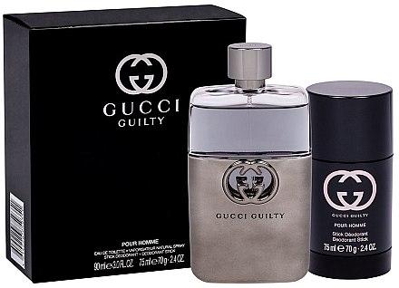 Gucci Guilty Eau Pour Homme - Set (edt/90ml + deo/75ml) — Imagine N1