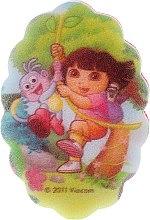 Parfumuri și produse cosmetice Burete de baie pentru copii, 169-6 - Suavipiel Dora Bath Sponge