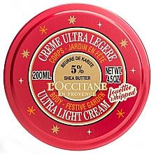 Parfumuri și produse cosmetice Cremă de corp - L'occitane Shea Festive Garden Ultra Light Body Cream