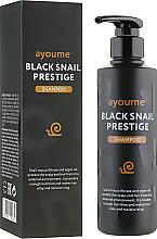 Parfumuri și produse cosmetice Șampon cu mucină de melc pentru păr - Ayoume Black Snail Prestige Shampoo
