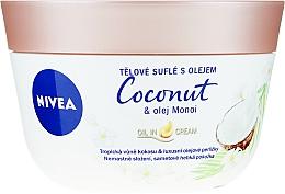 Духи, Парфюмерия, косметика Souffle pentru corp - Nivea Body Souffle Coconut & Monoi Oil