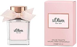 Parfumuri și produse cosmetice S.Oliver For Her - Apă de toaletă