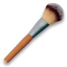 """Pensulă pentru pudră, 36071 - Top Choice """"Wood"""" — Imagine N1"""