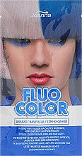 Parfumuri și produse cosmetice Șampon nuanțator - Joanna Fluo Color (Albastru închis)