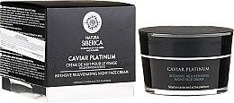 Parfumuri și produse cosmetice Cremă de față cu efect - Natura Siberica Caviar Platinum Intensive Rejuvenating Night Face Cream