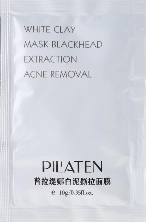 """Mască de față """"Argilă albă"""" - Pil'Aten White Clay Mask Blackhead Extraction Acne Removal (mostră)"""