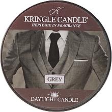 Parfumuri și produse cosmetice Lumânare de ceai - Kringle Candle Grey Daylight