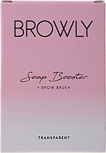 Parfumuri și produse cosmetice Săpun pentru modelarea sprâncenelor - Browly Soap Booster