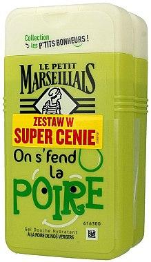 Set - Le Petit Marseillais Pear Shower Gel (sh/gel/2x250ml) — Imagine N1