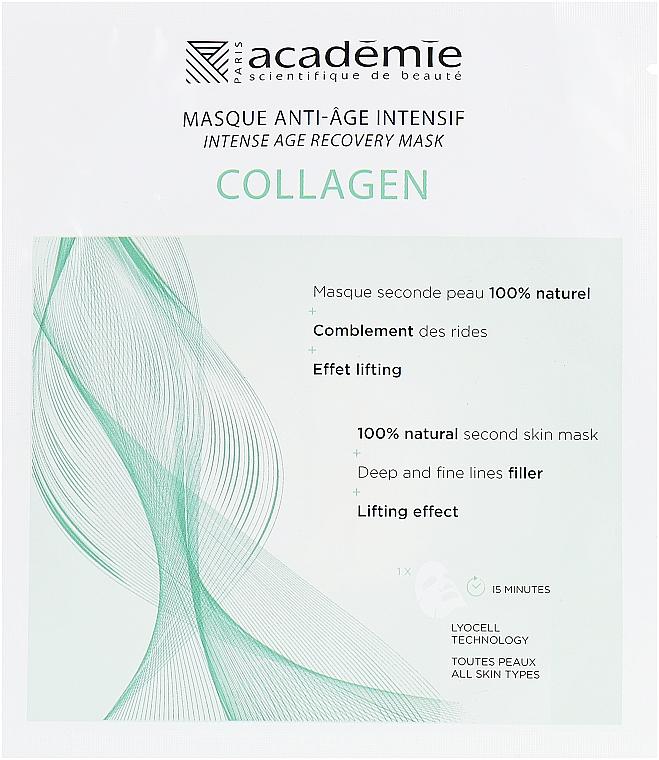 Mască intensiv regenerantă cu colagen pentru față - Academie Visage Collagen Intensive Age Recovery Mask